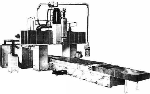 Поздовжньо-фрезерний верстат 6М612, 6М612Ф11, 6М612МФ4, 6М612Ф4