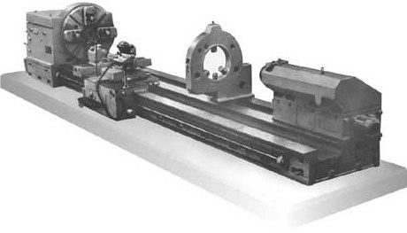 Важкий токарний верстат 1А665