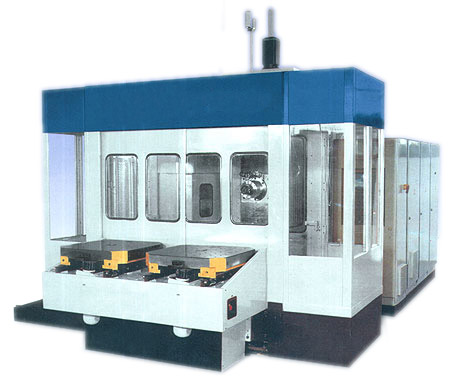 Горизонтальный обрабатывающий центр ИС-500, ИС500ПМФ4