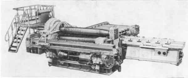 Машина листозгинальна гідравлічна чотирьохвалкова ИБ2426